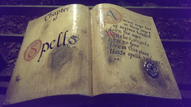 book of spells stockeld park