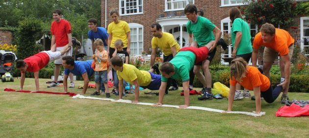 SPorts day family